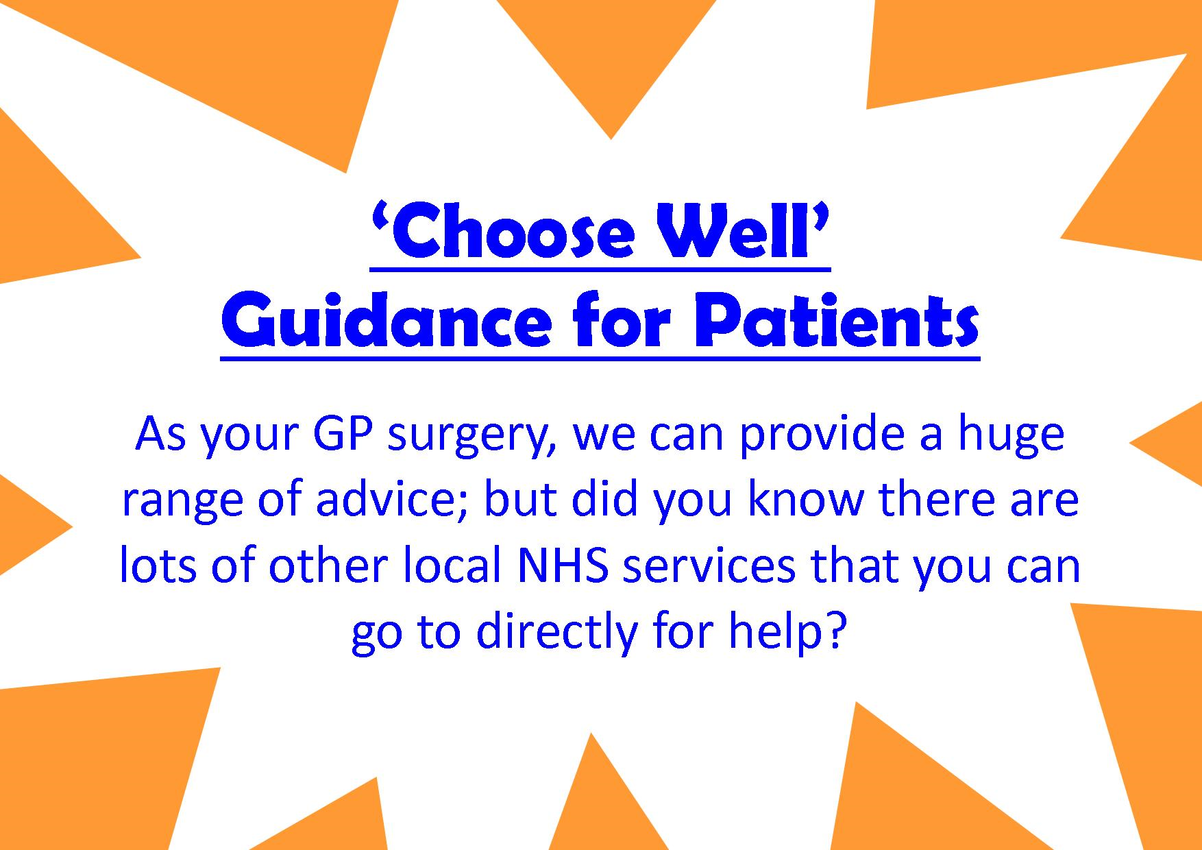 Poss alternatives to GP apt